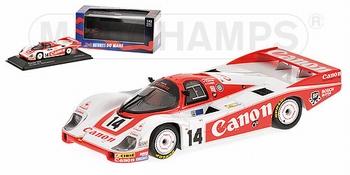Porsche 956 L Lammers Palmer Lloyd 24 h Le Mans  Canon # 14  1/43