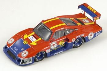 Porsche 935/81 # 46 Riverside 1983 B, Wolleck M,de Narvaez  1/43