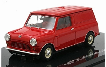 Austin Mini cooper 1/4 ton red  1/43