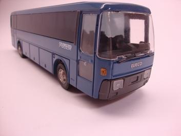 Iveco Autocar autobus Polizia Politie  1/43