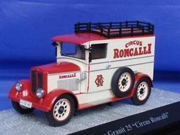Phanonmen Granit 25 Circus Roncalli  1/43
