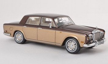 Rolls Royce Silver Shadow Brown Gold Metallic  1/43