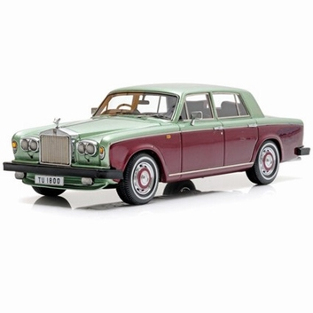 Rolls Royce Silver Shadow II Metallic green Bordeaux  1/43