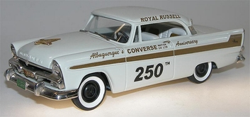 Plymouyh Fury 1956 Pikes Peak Hill Climb # 250 Chrysler Corp  1/43