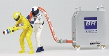 Pit crew figuren Williams BMW  Refueller set Figuur  1/18
