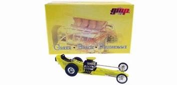 Drag race Greer Black Prudhomme  Yellow  geel  1/43