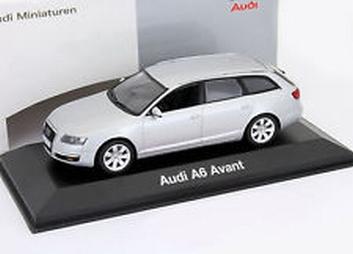 Audi A6 Avant silver  zilver  1/43