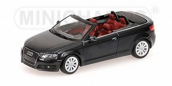 Audi A3 Cabriolet  Phantomschwarz   1/43