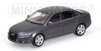 Audi A4  Grey  Grijs  1/43
