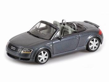 Audi TT Roadster Grey metallic  Grijs Cabriolet  1/43