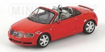 Audi TT Roadster 1999 Red Grey interieur   1/43