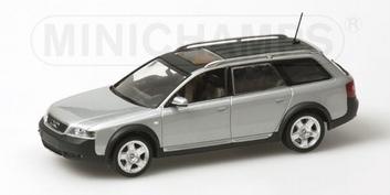 Audi Allroad Quattro Licht silber metallic 2000 silver   1/43