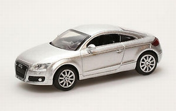 Audi TT 2007 silver zilver   1/43