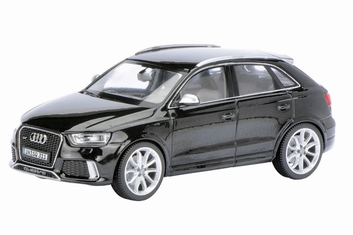 Audi RS Q3  Zwart Black Limited edition 1 of  500 pieces  1/43
