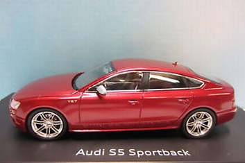 Audi S5 Sportback Bordeaux red Limited edition 1 of 500  1/43