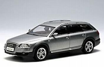 Audi A6 Quattro Quarts grijs Grey  1/43