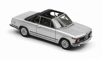 BMW 2002 Baur silver zilver  1/43