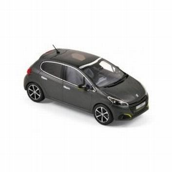 Peugeot 208 Dark Grey 2015  1/43