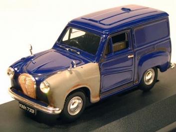 Austin A35 Van Dark Blue   Donker blauw Hidden treasures  1/43