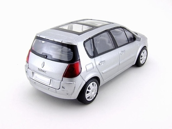 Renault Scanic 2005 Zilver  silver  1/43