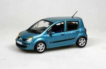 Renault Modus Privelege  1,5 l  Blauw  Blue  1/43