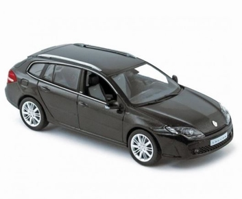 Renault Laguna GT  Break 2008 Dark Grey  donker grijs  1/43