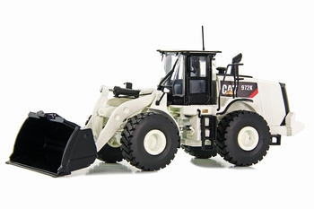 Cat wheel loader 972k White edition  1/50