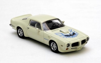 Pontiac Firebird Trans Am White Wit  1/43