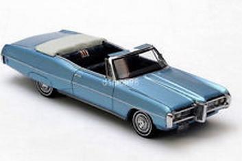 Pontiac Bonneville Convertible Cabrio Blue  Blauw  1/43