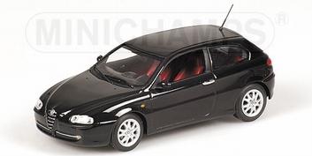 Alfa Romeo 147 Zwart Black  1/43