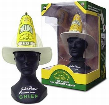 John Deere 1890 Fire Fichting Helmet Brandweer Helm