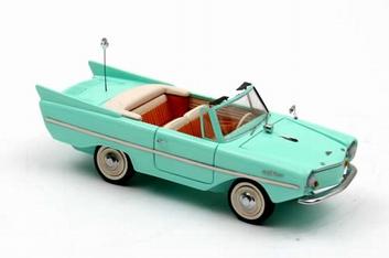 Amphicar 1961 uit de serie Kapitein Zeppos  1/43