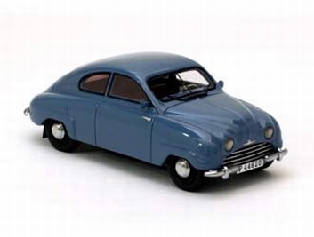 Saab 92 Light Blue  Licht Blauw  1/43