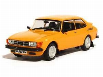 Saab  99 Turbo 1977 Orange  Oranje   1/43