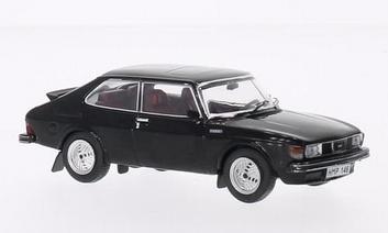 Saab 99 Turbo Combi Coupe 1977  Black Zwart  1/43