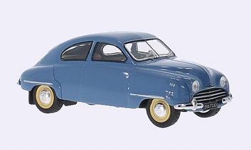 Saab 92 B 1954 Light Blue  Licht Blauw  1/43