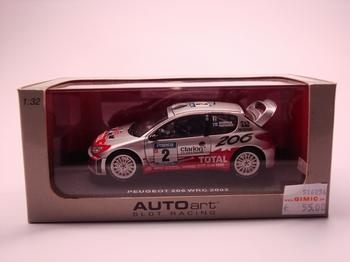 Peugeot 206 WRC 2002  1/32