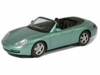Porsche Carrera 4 Cabrio Green Blue metallic  Groen Blauw  1/43