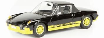 Porsche 914 ( VW Porsche ) Black Zwart  1/43