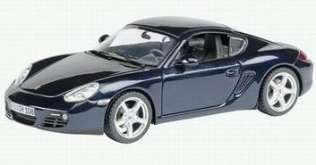 Porsche Cayman Dark Blue Donker Blauw   1/43