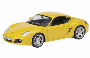 Porsche Cayman S Yellow  Geel   1/43