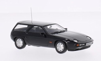 Porsche 928 S Kombi Break By Artz 1979 Black Zwart   1/43