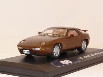Porsche 928 S4 Coupe 1986 Brown Bruin  1/43