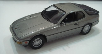 Porsche 924 Turbo 1978 Grey Grijs  1/43