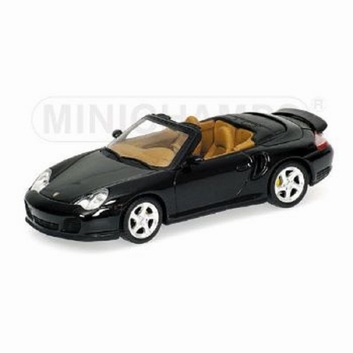 Porsche 911 Turbo Cabriolet 2003 Dark Green Metallic  1/43