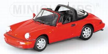 Porsche 911 Traga1991 Red  Rood   1/43