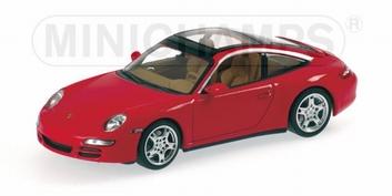 Porsche 911 Targa 2006 Red  Rood  1/43