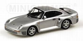 Porsche 959  1987 Silver Zilver  1/43