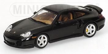 Porsche 911 Turbo 1999 Dark green metallic Groen  1/43