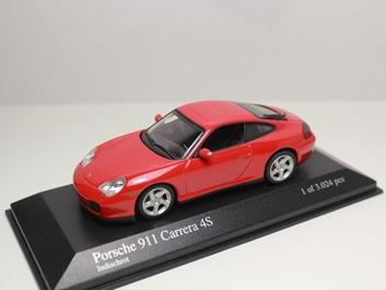 Porsche 911 Carrera 4 S 2001 Red Rood   1/43